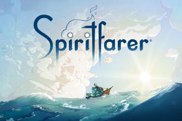 Spiritfarer Title Screen Art