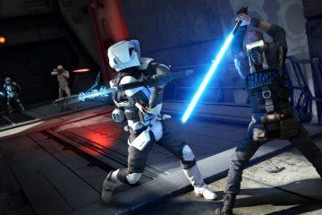 Star Wars Jedi Fallen Order Lightsaber Fight