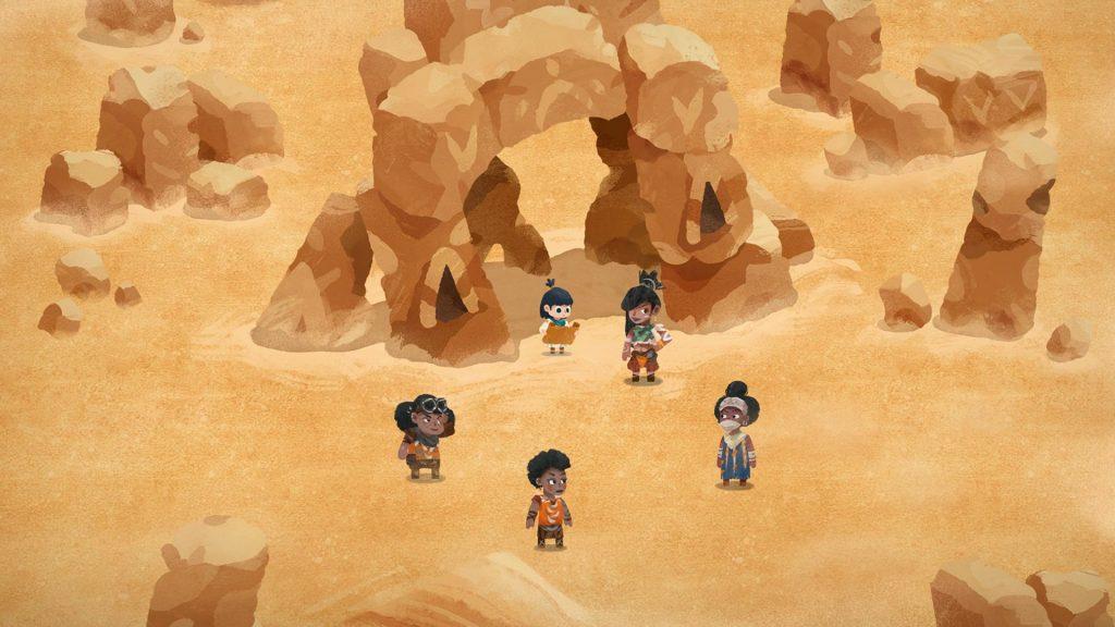 Carto desert nomads
